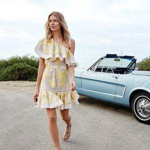 Rebecca Taylor Ella one shouted lemonade dress